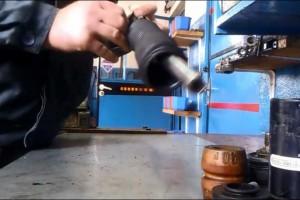 Jak rozebrać amortyzator nivo MB W210 W124